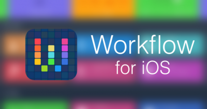 Workflow by Apple
