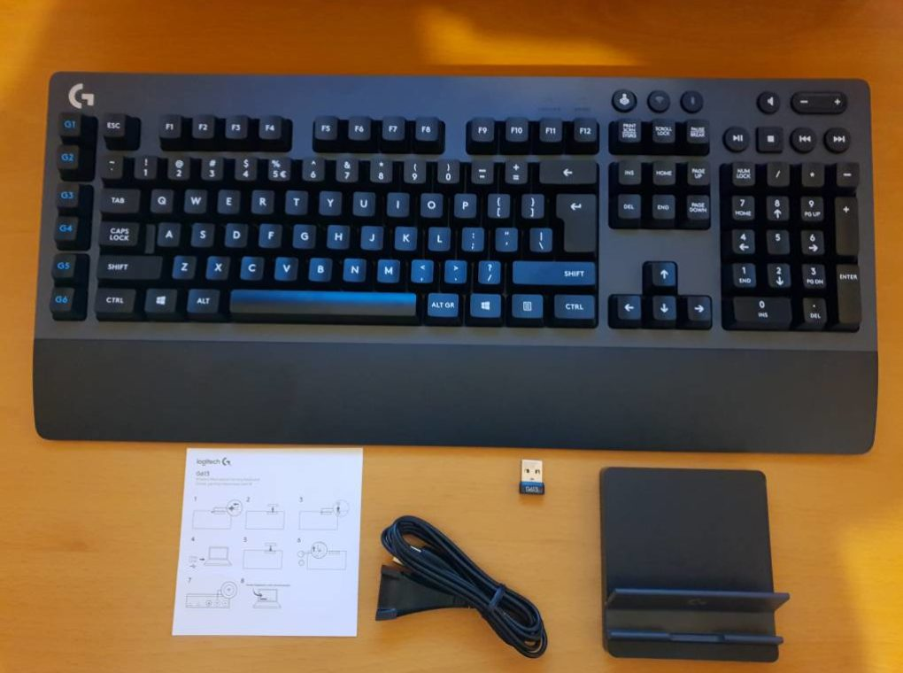 Logitech G613, the high-performance wireless gaming keyboard