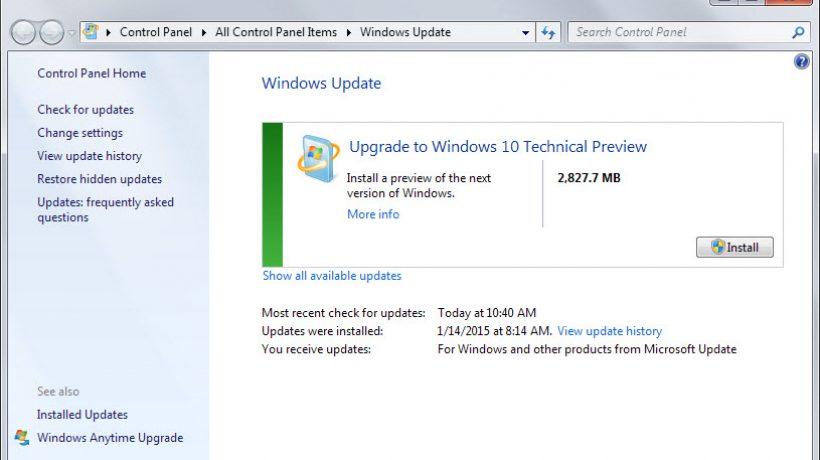 Do you control Windows updates?