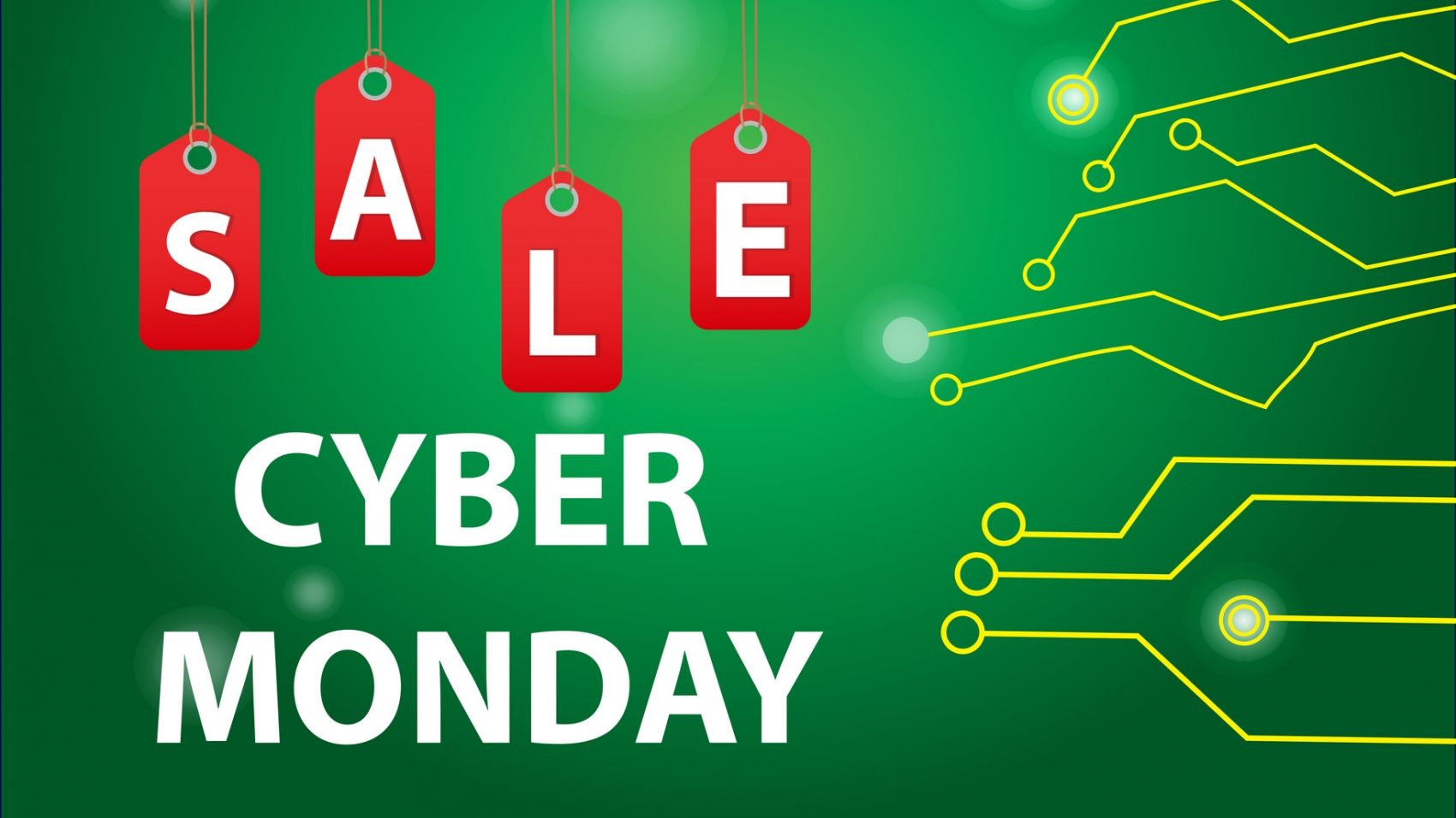 Cyber Monday sales, Cyber Monday Super offer discounts. Cyber Monday poster, banner. Vector illustration