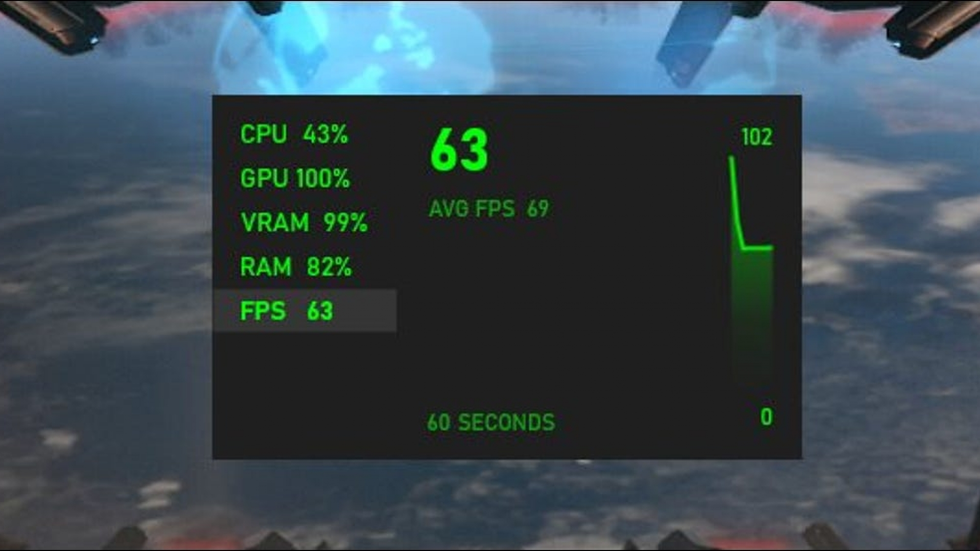 game fps check