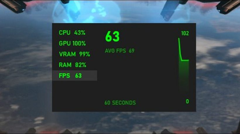 How can I do game fps check?